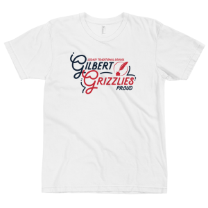 LTS Gilbert Grizzlies White Script T-shirt 2020